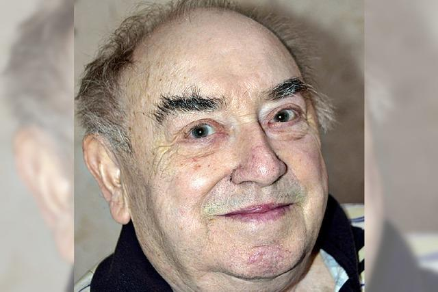 Franz Futterer ist 80 Jahre alt