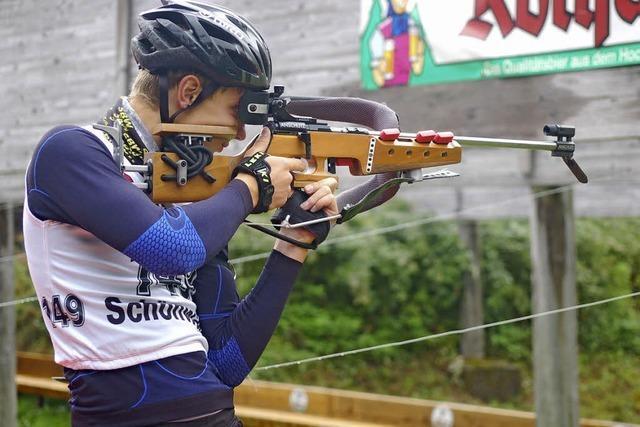 Florian Waldvogel gewinnt Biathlon-Massenstartrennen