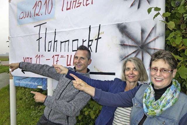 Erster Flohmarkt in Tunsel