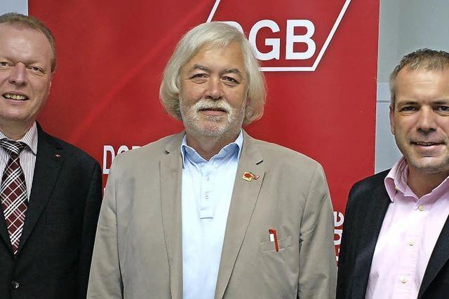 Klaus Melder weiterhin DGB-Chef