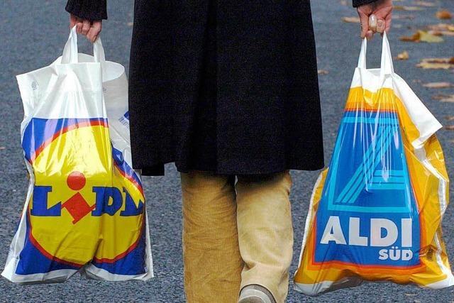 Discounter steigern die Preise stärker als die Konkurrenz