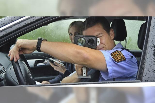 Die Polizei drückt ein Auge zu