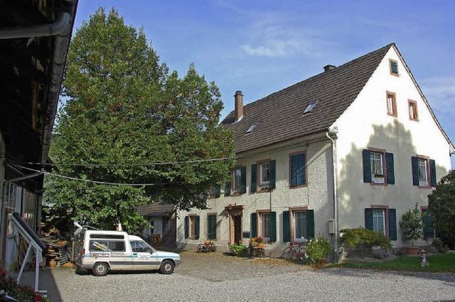 Bläserhof: Weil am Rhein im Wandel der Zeit