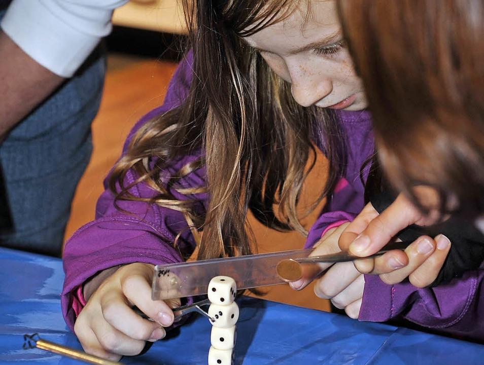Bei den Science Days dürfen Schüler werkeln und tüfteln.  | Foto: Europa-Park