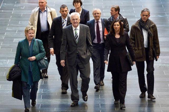 CDU und Grüne vereinbaren zweite Sondierungsrunde