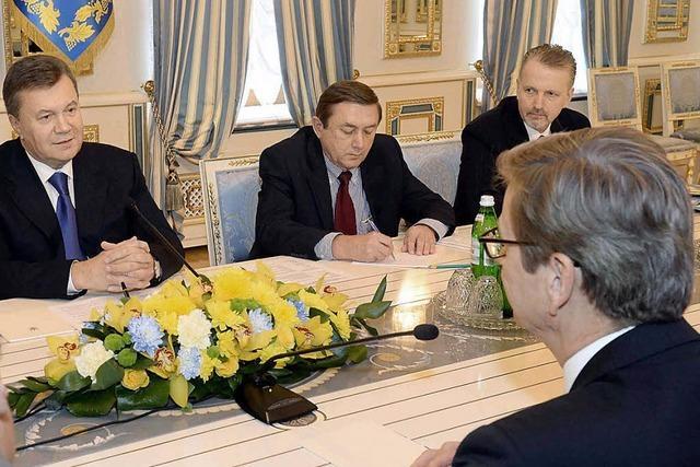 Westerwelle schürt Hoffnung für Timoschenko