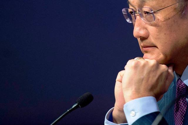Weltbankchef Kim will extreme Armut schneller senken