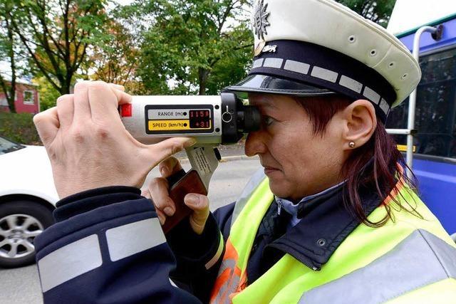 Autofahrer in Freiburg waren gut auf den Blitzmarathon vorbereitet