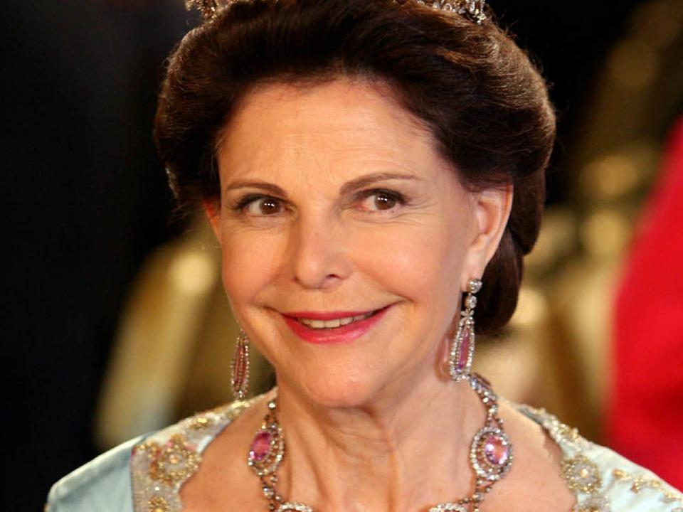 Königin Silvia  | Foto: dpa
