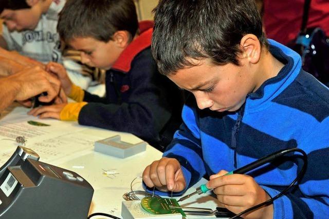 Science Days im Europa-Park locken junge Forscher an