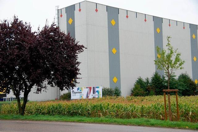 Seit 1838 gibt es die Tapetenfabrik Erismann in Breisach