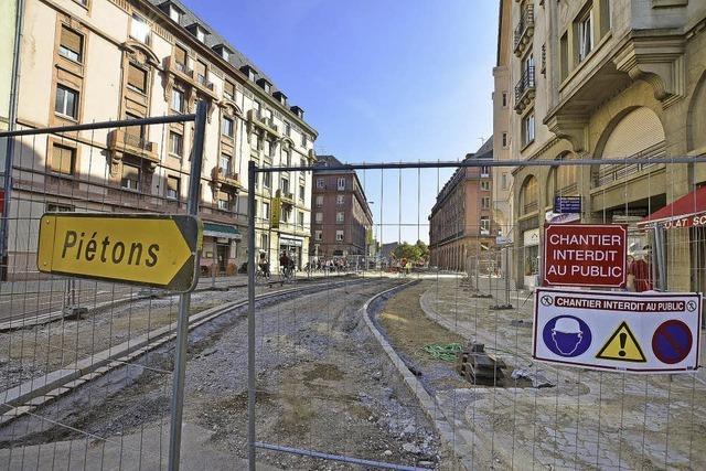 Straßburg baut Fußgängerzonen aus