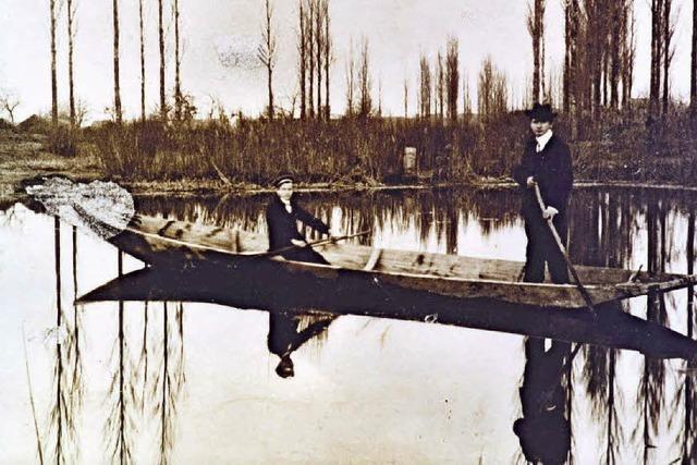 Hakenmann und Wasserkäfer