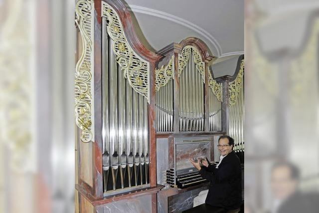 Neue Ahrend-Orgel in der Wallfahrtskirche auf dem Lindenberg