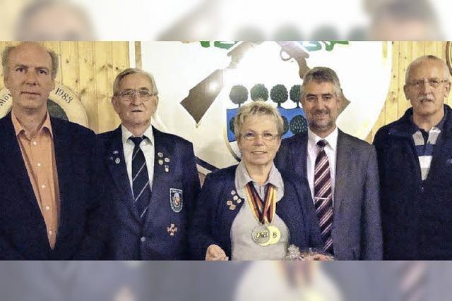 Sportschützin Doris Kummle ist zweifache deutsche Meisterin