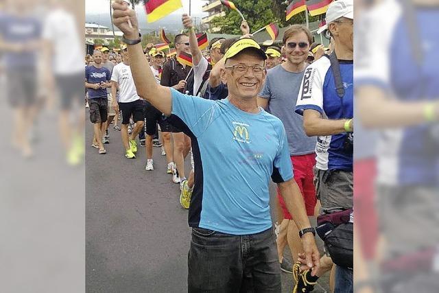 Triathlet Reinhard Börner startet beim Ironman auf Hawaii