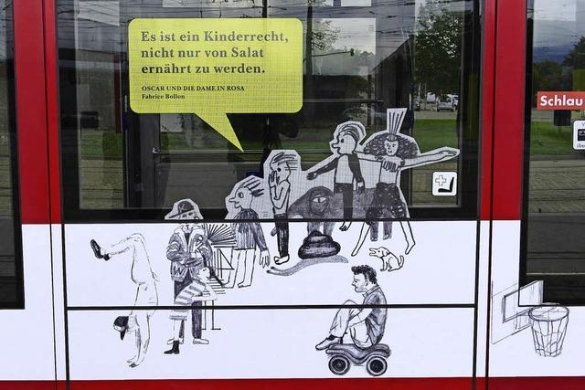 Theater-Straßenbahn: Nackter Mann sorgt für Irritationen