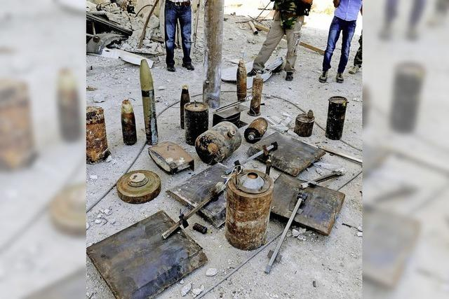 Chemiewaffen-Inspektoren stehen vor ihrer schwierigsten Aufgabe