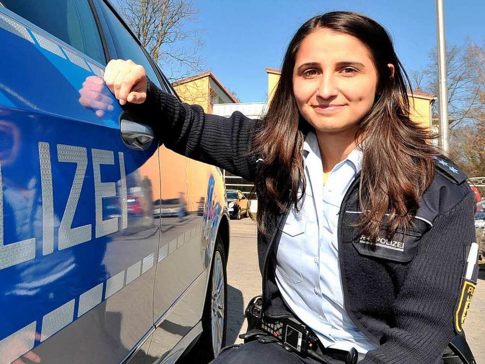 Die Polizei in Baden-Württemberg hätte...e die türkischstämmige  Serap Bahadir.  | Foto: dpa