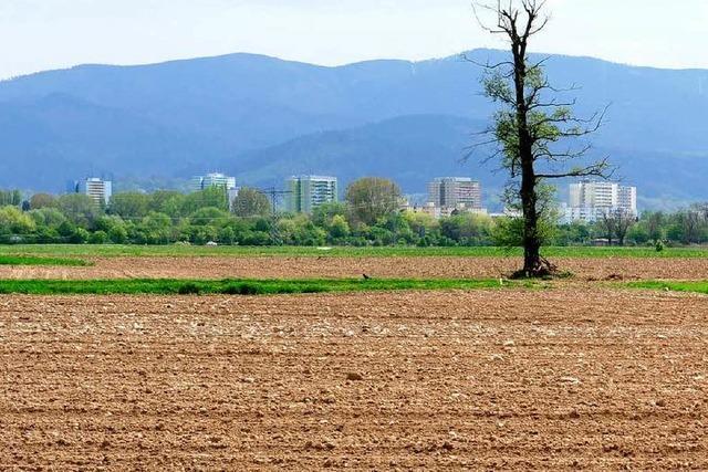 In Städten wächst der Bedarf an zusätzlichem Bauland