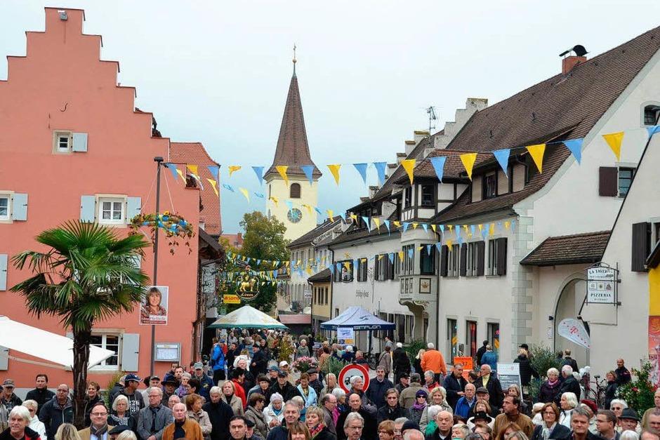 Oktoberfest mit Straßeneinweihung in Bad Krozingen (Foto: Susanne Müller)