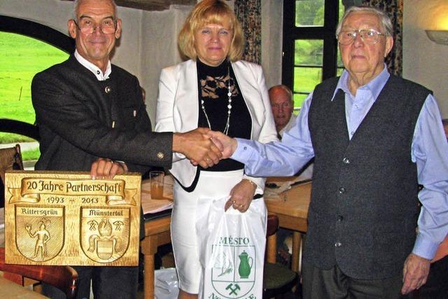 Arnfried Viertel ist erstes Ehrenmitglied