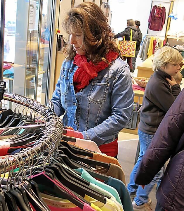 Ungestört bummeln und einkaufen am verkaufsoffenen Sonntag.    Foto: Erhard Morath