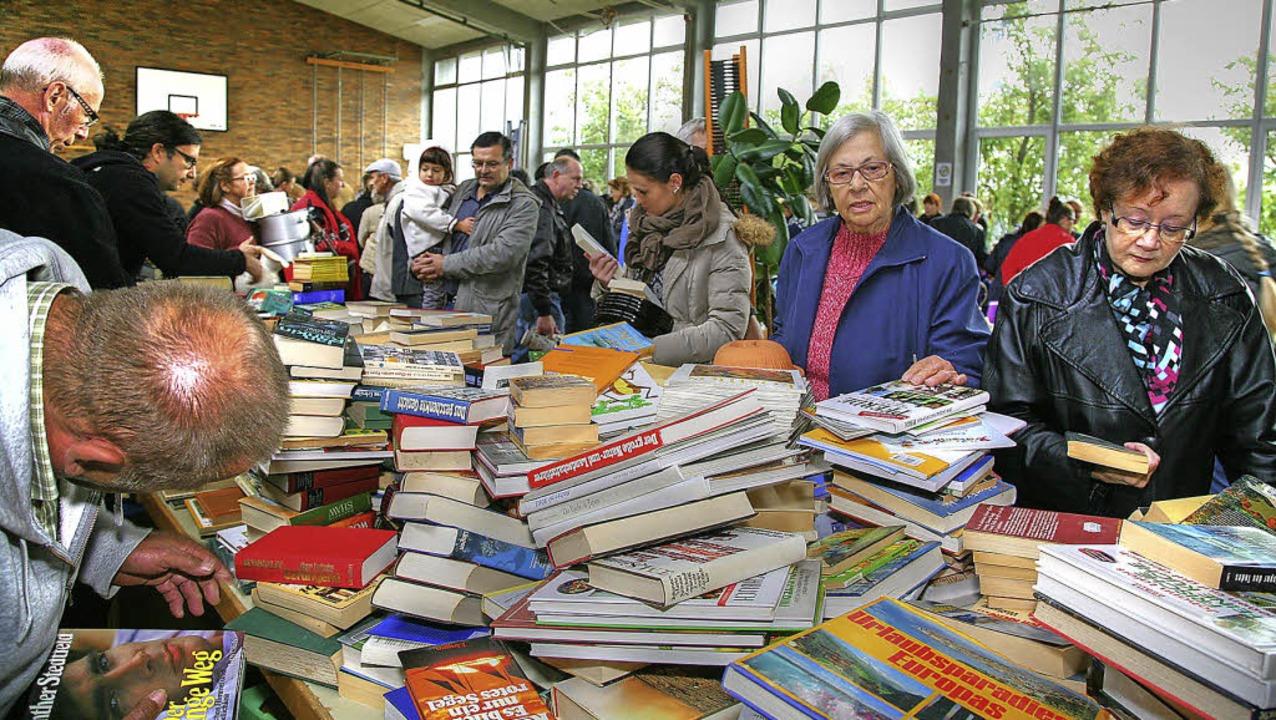 Bücher aus zweiter Hand sind seit Jahr... Tauschbörse in Münchweier der Renner.  | Foto: S. Decoux-KOne