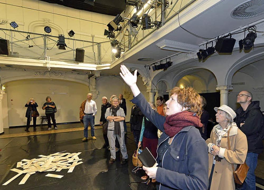 Annette Pehnt im Marienbad  | Foto: Michael Bamberger