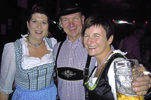 Musikverein feiert zünftig den Oktober