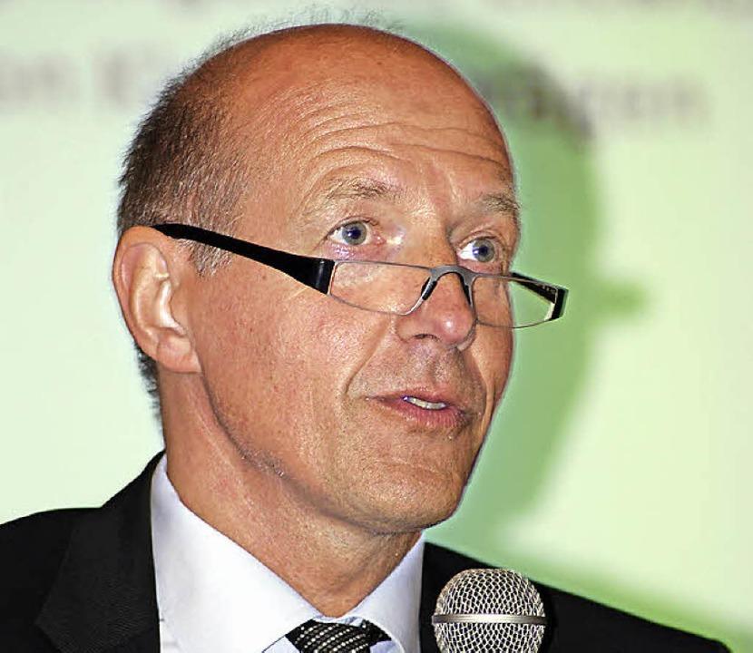 Festredner: Der Psychotherapeut Michael Bachg.    Foto: Thomas Loisl Mink