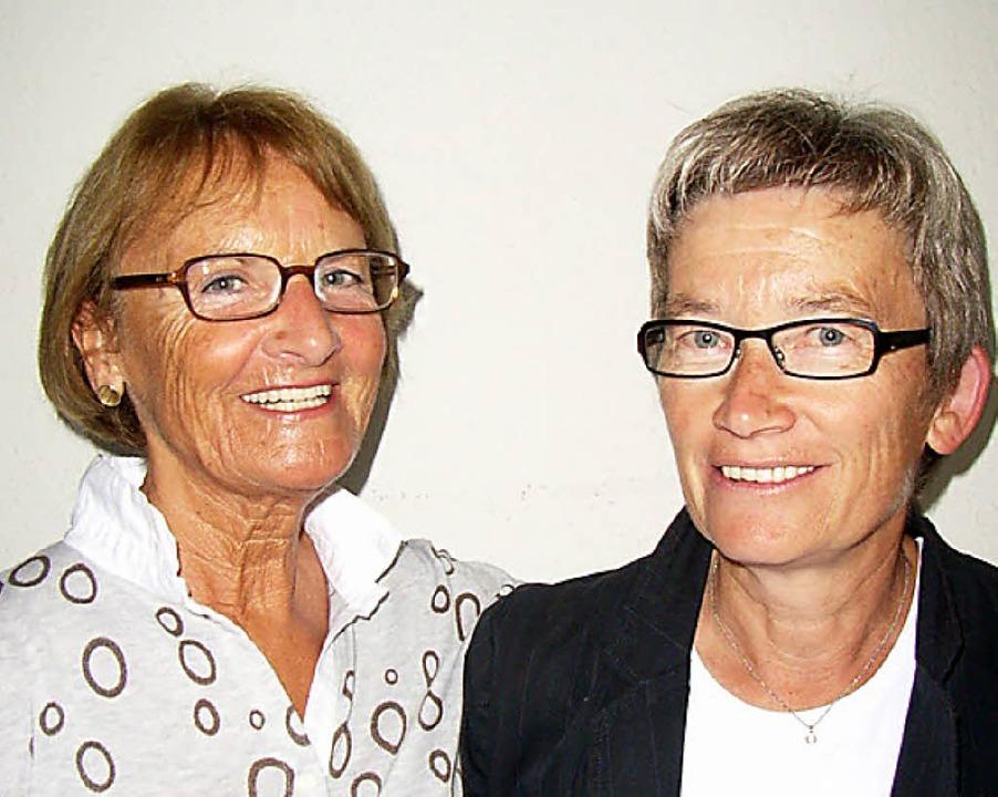 Expertinnen für Gedächtnistraining: Ze...t Anja Küpfer die Leitung übernommen.   | Foto: Johanna Högg