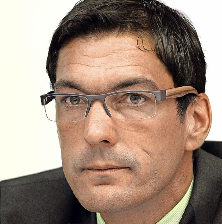 Einstimmig wiedergewählt: SVS-Präsident Stefan Wirbser    Foto: hahne