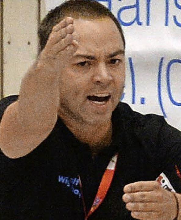 Zeigt, wo's lang geht: HSG-Coach  Wiggenhauser     Foto: Patrick Seeger