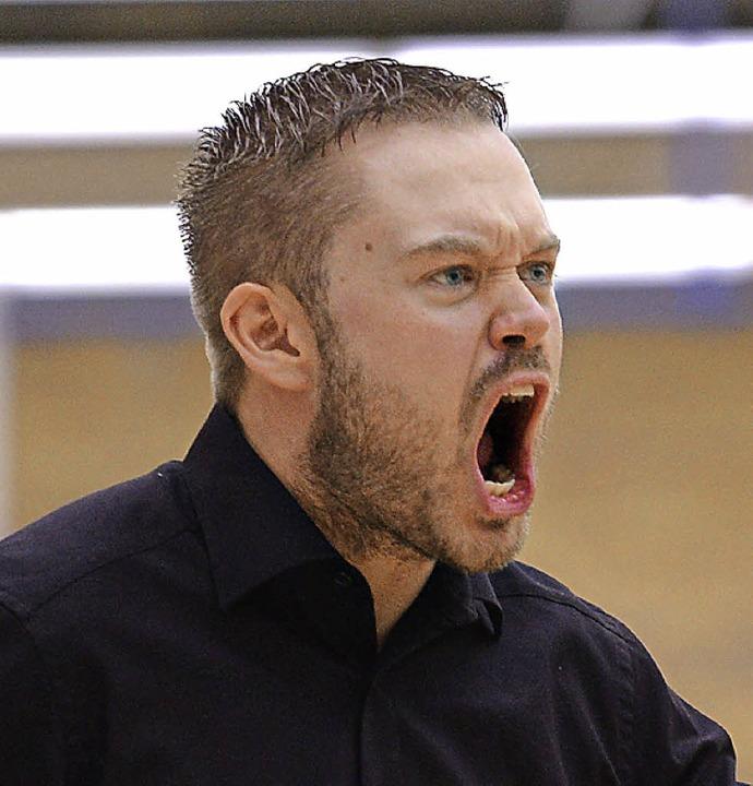 USC-Trainer Stefan Mienack war nicht zufrieden.   | Foto: Seeger