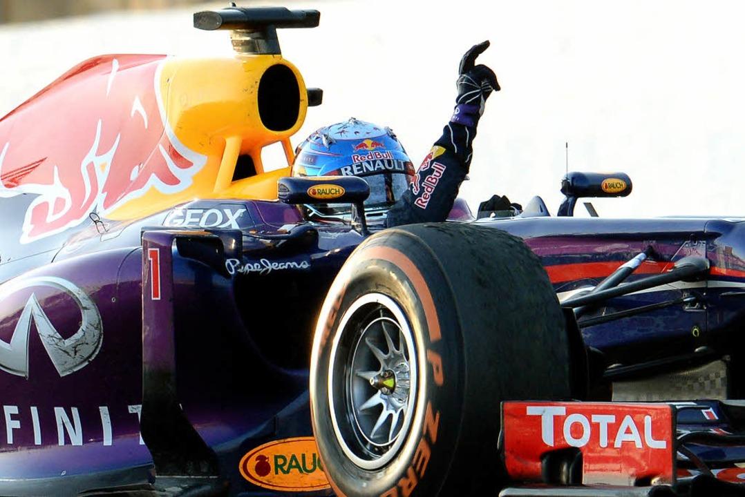 """""""Dieses Rennen hat mich einfach ...uzuka, dem Wartezimmer der Champions.     Foto: AFP"""