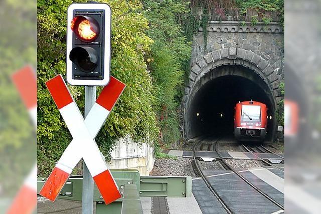 Zwei Nachbarn feiern die Hochrheinbahn
