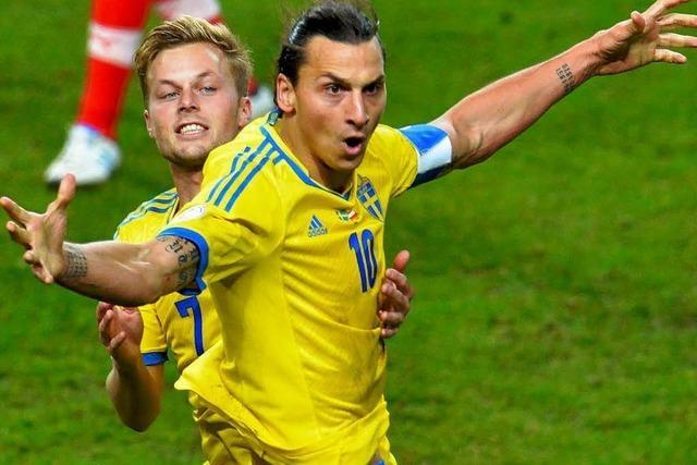 Ibrahimovic fehlt im Spiel gegen Deutschland