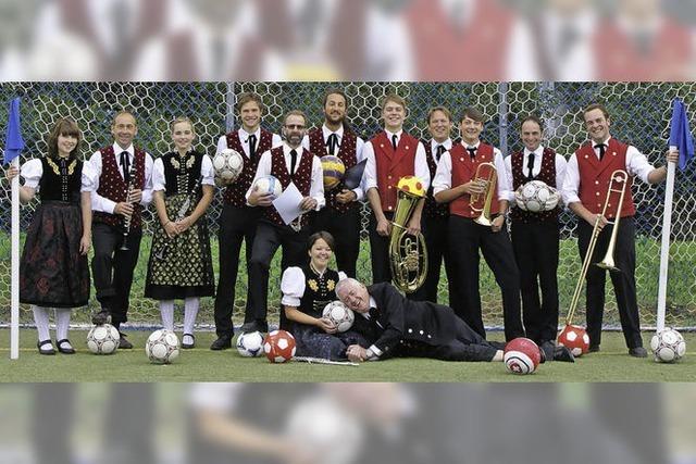 Fußballspielen für den guten Zweck