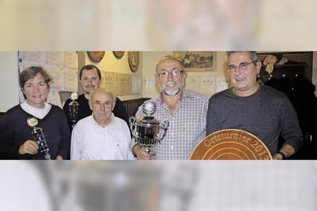 Das Team Krug wird wieder Turniersieger