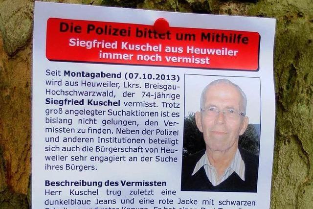 Ganz Heuweiler sucht nach Siegfried Kuschel