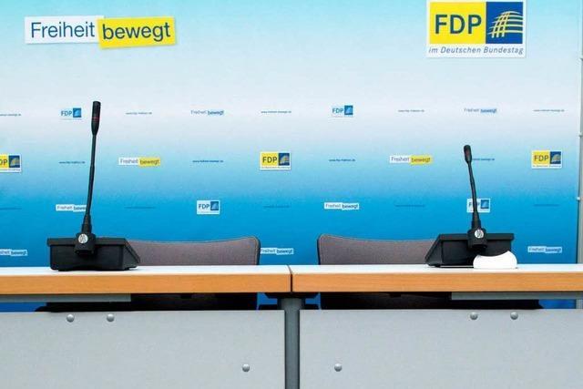 Die FDP sagt leise servus