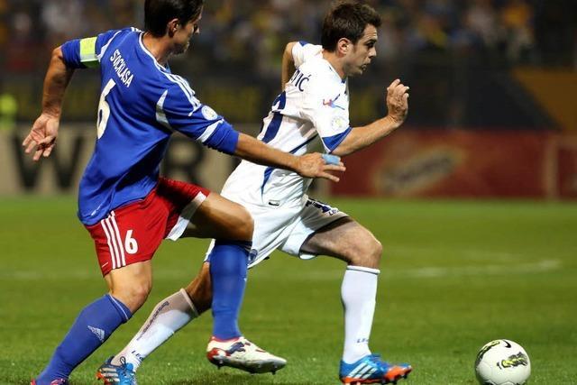 Bosnien-Herzegowina – nur noch 90 Minuten bis zur WM
