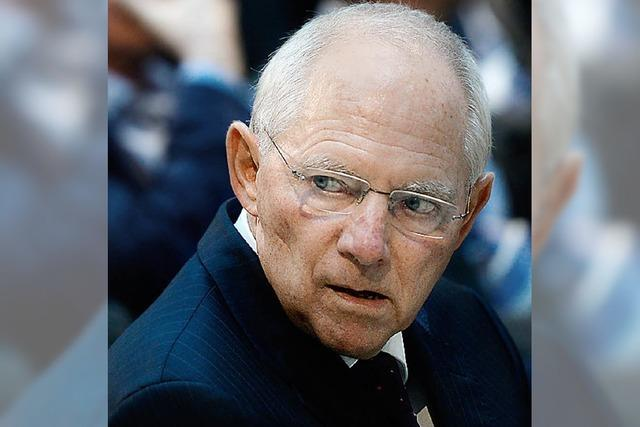 Große Koalition: Bleibt Schäuble Finanzminister?