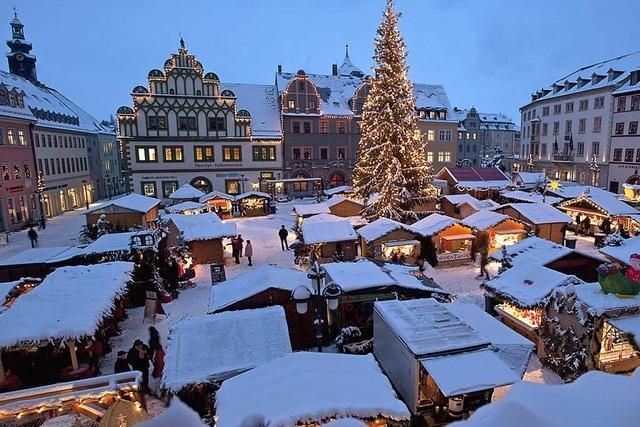 Adventsstimmung in Weimar und Erfurt genießen
