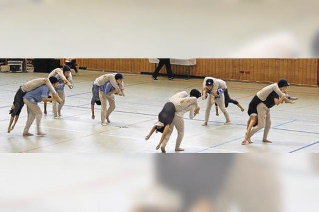 Sportgymnastik auf hohem Niveau