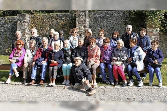 Eine Seniorengruppe