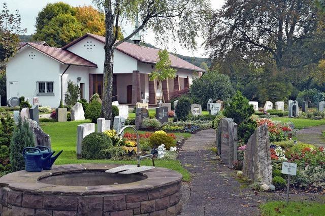Die Friedhöfe sind mehr als Bestattungsorte