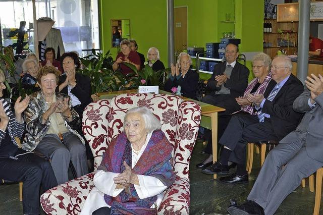 Die 100-jährige Damenschneiderin von der Spree