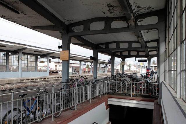 Bahnhof soll 2018 barrierefrei sein